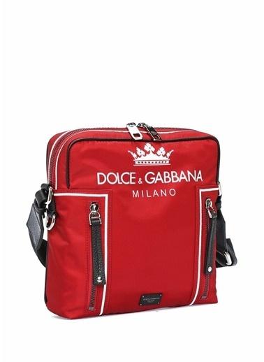 Dolce&Gabbana Messenger / Askılı Çanta Kırmızı